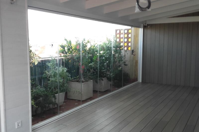 Terraza Patio Madera Sintetica Barcelona 25 Deckingpark Online